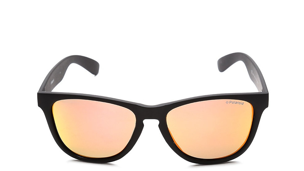 Polaroid Unisex Mirrored Polarised Wayfarer Sunglasses P8443 9CA 55L6