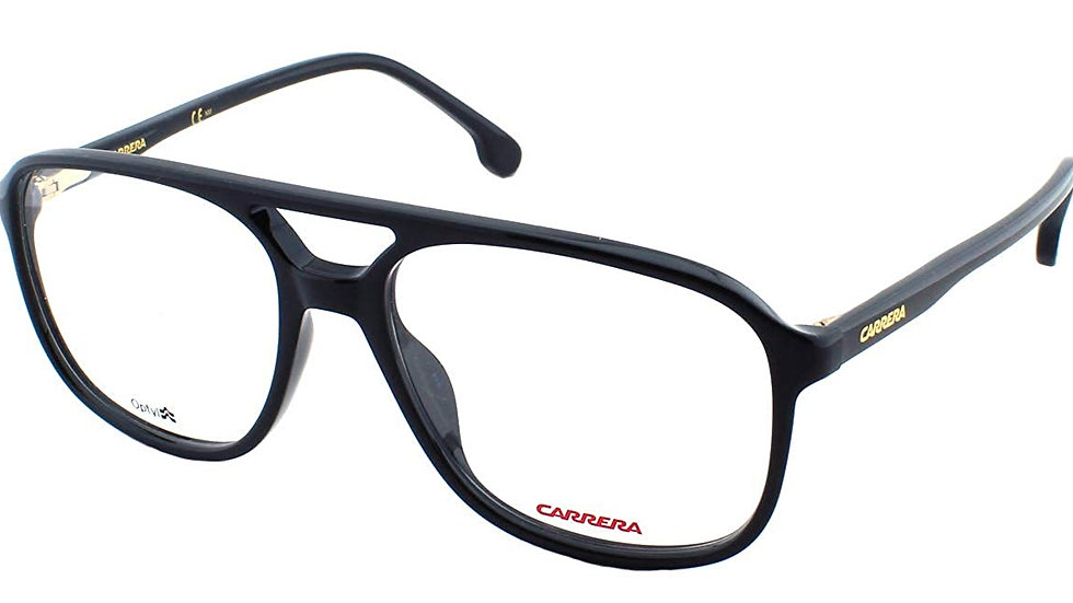 CARRERA [CA176 807 5416] BLACK RECTANGLE EYEGLASSES