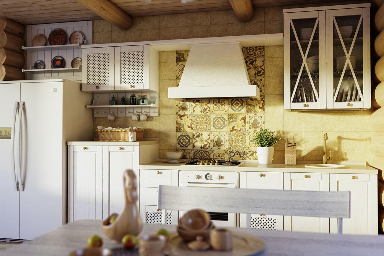 Кухня Геос Идеал Geos Ideal Эри
