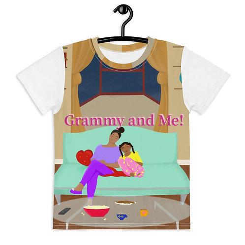 Grammy and Me Kids crew neck t-shirt