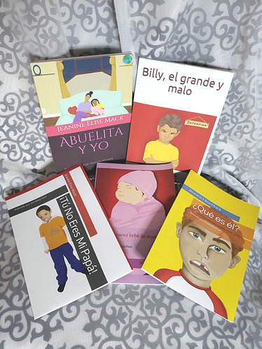 5 Book Set -Espanol!