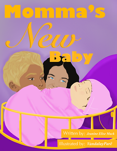Momma's New Baby - Paperback Book