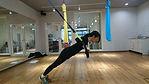 TRXで体幹トレーニング
