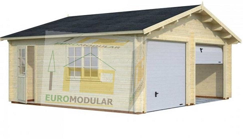Pre o casas de madeira euromodular prefabricado - Feria de casas prefabricadas ...