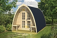 Bungalow, campismo, glamping