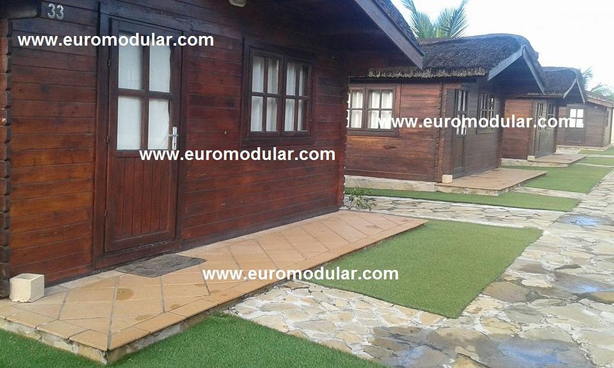 Casas de madeira euromodular casas pr fabricadas - Feria de casas prefabricadas ...