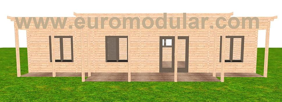 Casas de madeira euromodular casas prefabricadas - Feria de casas prefabricadas ...