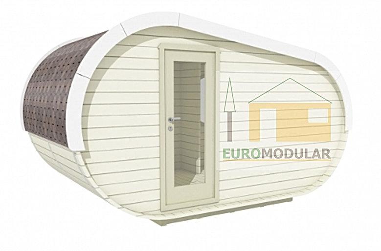 bungalow de campismo, glamping