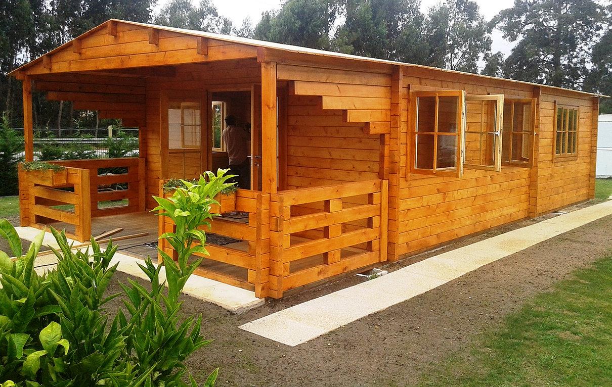 Casas de madeira euromodular bungalows prefabricados portugal - Feria de casas prefabricadas ...