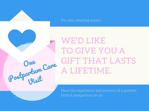 Gift Voucher - Postnatal Care Visit