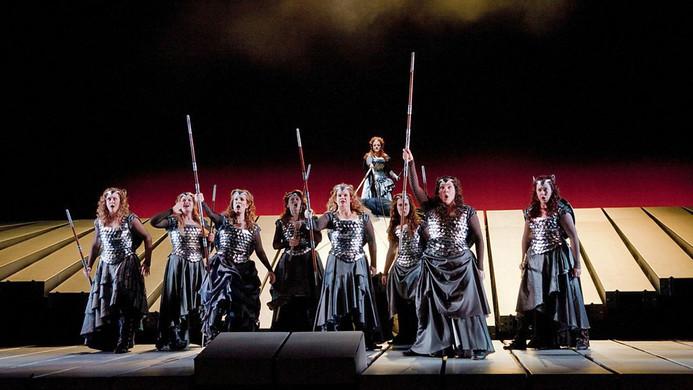 Siegrune in Die Walkure at The Metroplitan Opera
