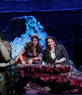 Mercedes in Carmen at The Metroplitan Opera. Photo: Ken Howard