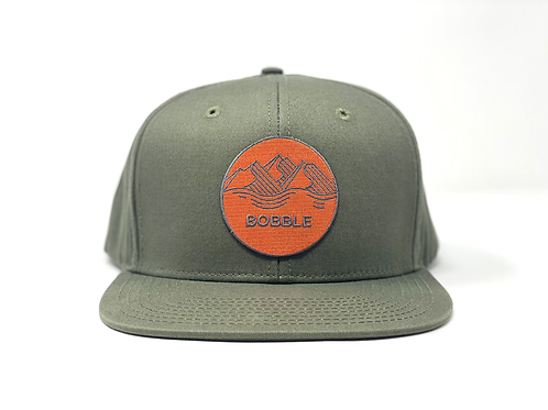 Reflection Snapback - Deep Green