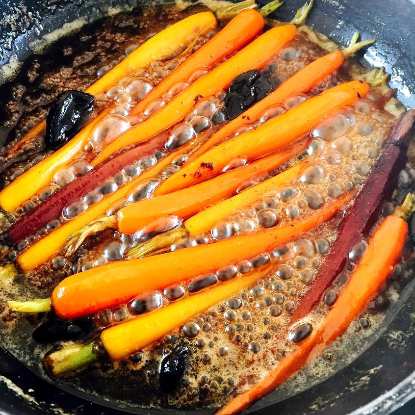 poêlée de carotte étape 1