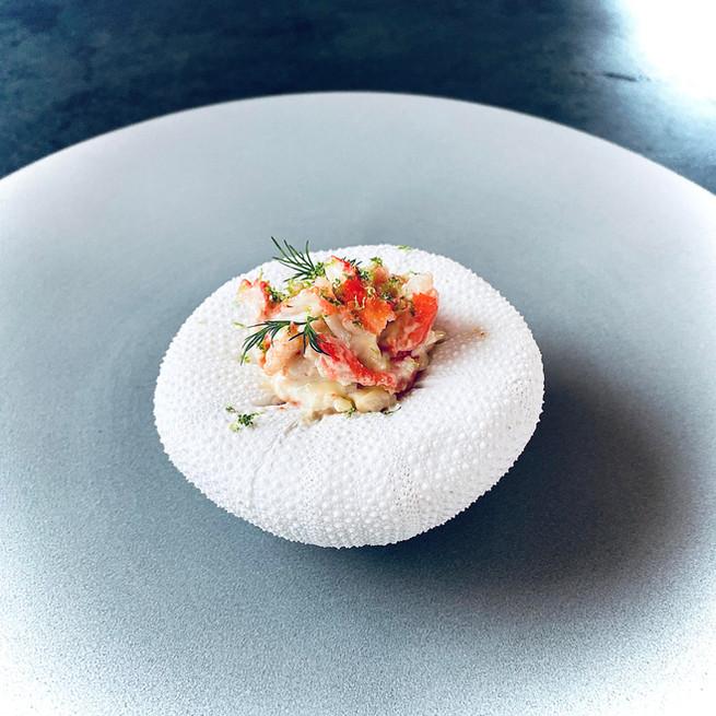 King crab sauce mayonnaise