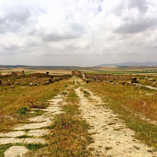 Panorama Volubilis