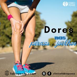 Dores nas pernas e Joelhos - Quiropraxia resolve