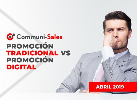 Promoción Tradicional vs Promoción Digital