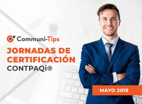 Jornadas de certificación CONTPAQi®