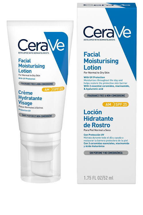 CeraVe AM Facial Moisturising Lotion SPF 25