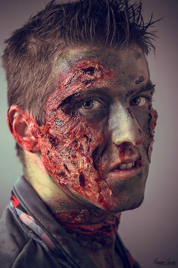 Maquillage zombi