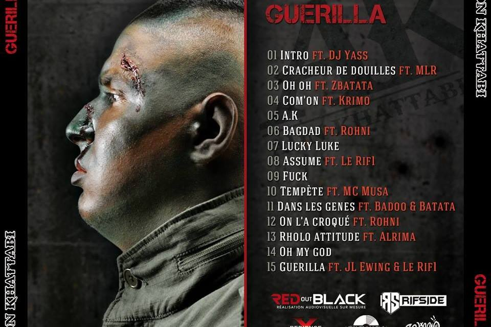 "Pochette d'album ""Guerilla"""