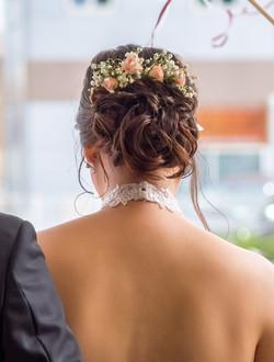 coiffure mariée bohème chic