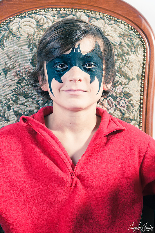 Maquillage enfant batman