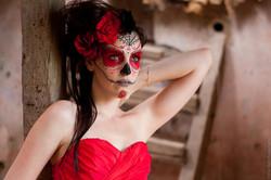 Maquillage artistique mexique