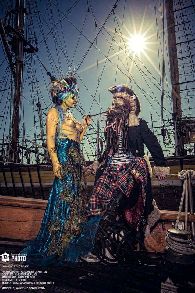 """Maquillage mode duo """"Pirates"""""""