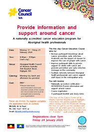 2019-11-18-AHP-Cancer-Education-Course (