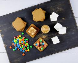 Peanut Butter M&M S'mores Kit