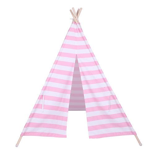 Pink Stripe Teepee/ Tipi