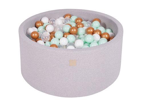 Round Ball Pit- Light Grey (Custom)