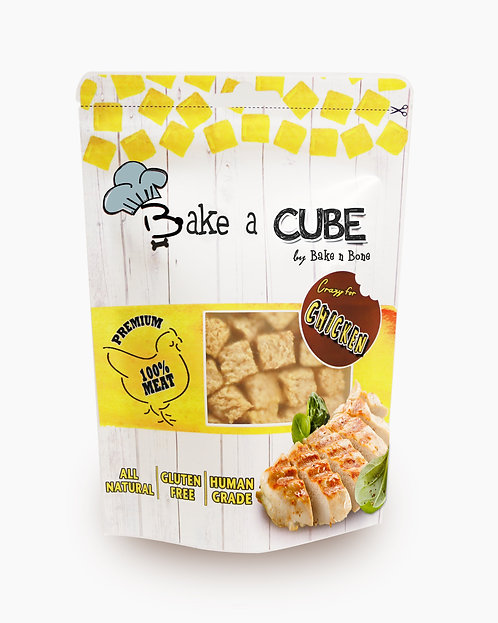 Bake a Cube : Chicken 70g.  !! Buy 5 get 1 Free (can be assorted) !!