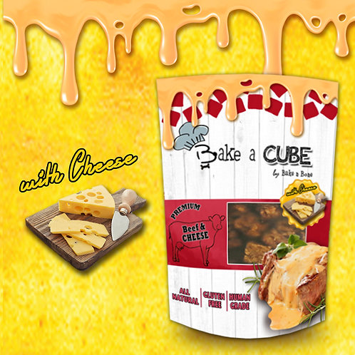 Bake a Cube : Beef & Cheese 70g.  !! Buy 5 get 1 Free (can be assorted) !!