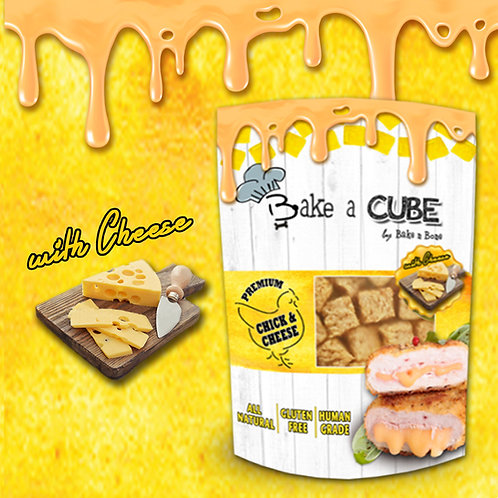 Bake a Cube : Chicken & Cheese 70g.  !! Buy 5 get 1 Free (can be assorted) !!