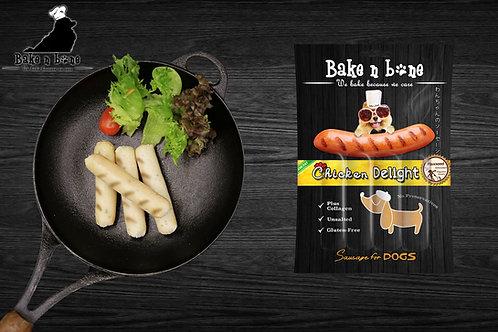 Chicken Delight Sausage for Dogs (ไส้กรอก อกไก่) !! 6 Free 1 คละรสได้ !!