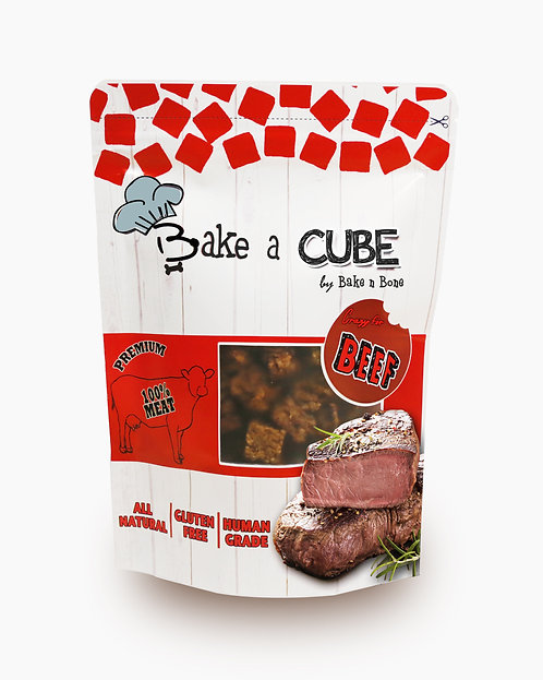 Bake a Cube : Beef 70g.  !! Buy 5 get 1 Free (can be assorted) !!