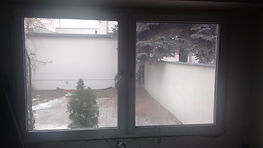 Folia Lustro Weneckie na oknach