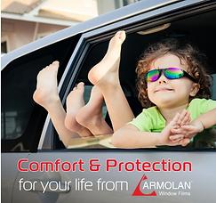 Folie Okienn Armolan - doskonała ochrona dla Ciebie i bliskich