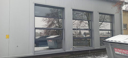 Folia M20 XT na budynku introligatorni -