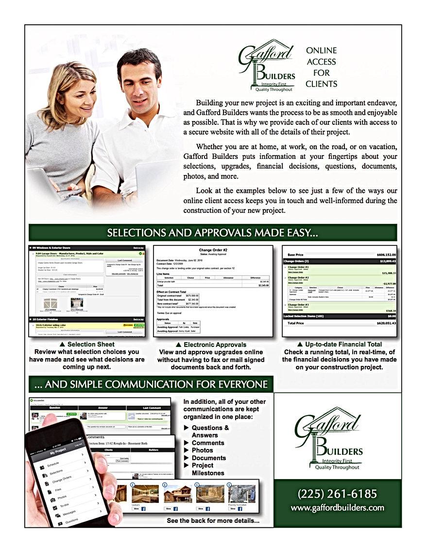 Online Client Access