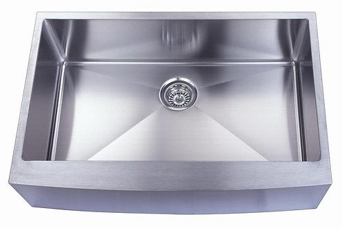 Single Bowl Apron under-mount sink