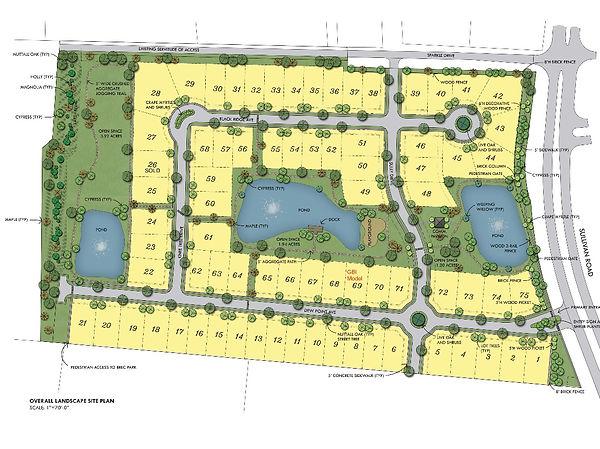 Cypress Lakes Sales Map