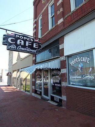 popes cafe shelbyville