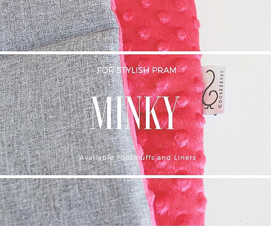 Minky Footmuffs + Liners