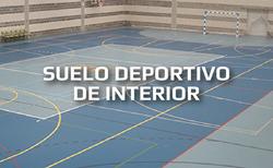 SUELO DEPORTIVO DE INTERIOR