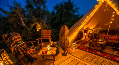 Terrace of the Glamping