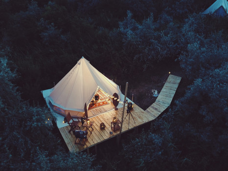 Our Glamping.